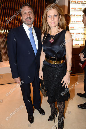 Editorial picture of Salvatore Ferragamo 75th Year Celebration, London, Britain - 05 Dec 2012