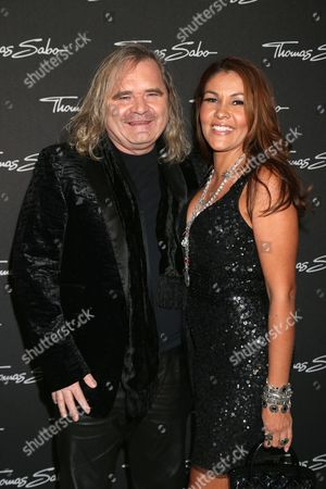 Stock Picture of Thomas Sabo and Luz Enith Sabo