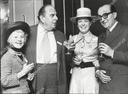 Actor Robert Morley At The Dorchester L-r Molly Weir Robert Morley Polly Elwes And Cyril Fletcher Robert Adolph Wilton Morley Cbe (26 May 1908 A 3 June 1992) Was An English Actor Who Often In Supporting Roles Was Usually Cast As A Pompous English Gentleman Representing The Establishment. In Movie Encyclopedia Film Critic Leonard Maltin Describes Morley As 'recognisable By His Ungainly Bulk Bushy Eyebrows Thick Lips And Double Chin [...] Particularly Effective When Cast As A Pompous Windbag'. More Politely Ephraim Katz In His International Film Encyclopaedia Describes Morley As A 'a Rotund Triple-chinned Delightful Character Player Of The British And American Stage And Screen.'.