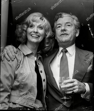 Actor Kenneth More (died 7/82) With Actress Nyree Dawn Porter.