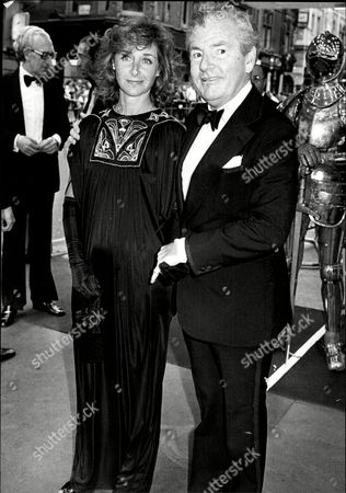 Actor Kenneth More (died 7/82) And His Third Wife Actress Angela Douglas.