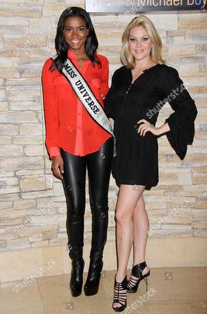 Miss Universe Leila Lopes, Shanna Moakler