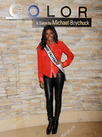 Stock Photo of Miss Universe Leila Lopes