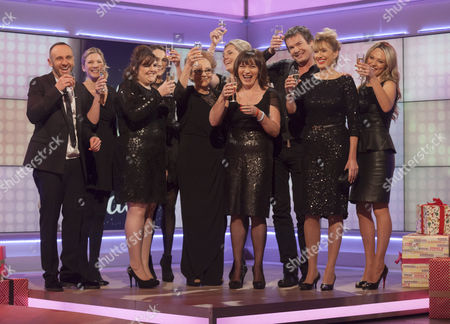 Lorraine Kelly Little Black Dress Finale Mark Stock Photo 2015403s