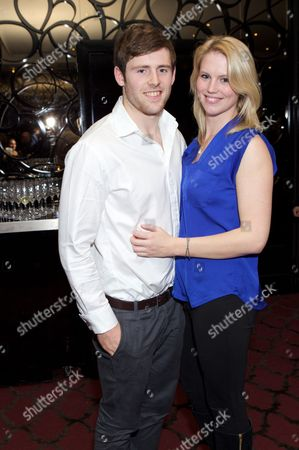 Stock Photo of Elliot Daly and Michelle Cussell