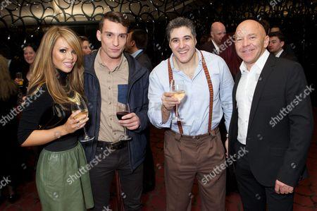Stock Picture of Katie Piper, Deano Bugatti, Steve Truglia and Dominic Littlewood