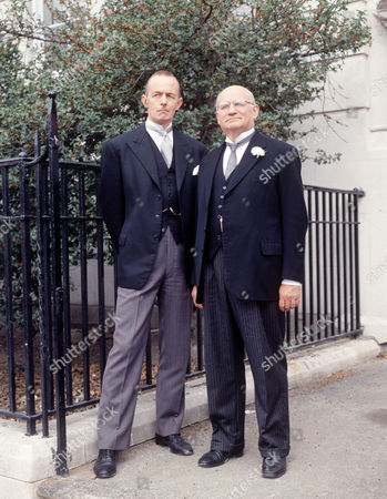 Stock Photo of David Quilter as Mr Shaw and Ewan Hooper as Mr Vavasour