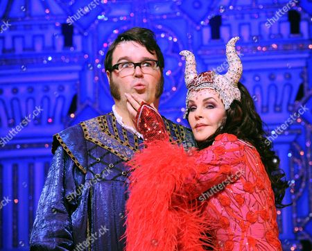 Jarred Christmas as Henchman and Priscilla Presley as The Wicked Queen