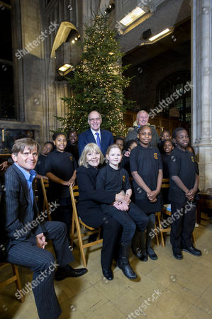 Editorial photo of Sick Children's Trust Christmas Carol Service, All Hallows Church, London, Britain - 06 Dec 2012
