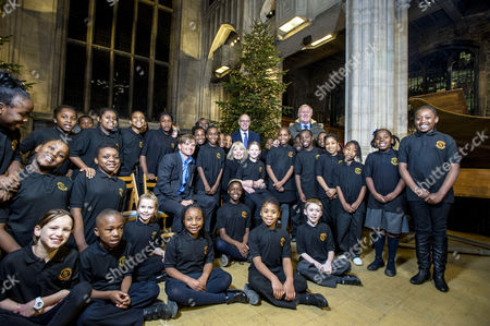 Editorial picture of Sick Children's Trust Christmas Carol Service, All Hallows Church, London, Britain - 06 Dec 2012