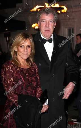 Stock Image of Jeremy Clarkson and wife Frances Cain