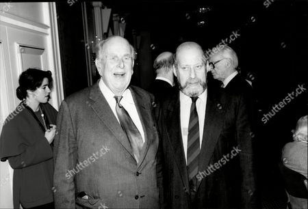 Actor Robert Morley (l) At His Foyles Luncheon With Clement Freud Robert Adolph Wilton Morley Cbe (26 May 1908 A 3 June 1992) Was An English Actor Who Often In Supporting Roles Was Usually Cast As A Pompous English Gentleman Representing The Establishment. In Movie Encyclopedia Film Critic Leonard Maltin Describes Morley As 'recognisable By His Ungainly Bulk Bushy Eyebrows Thick Lips And Double Chin [...] Particularly Effective When Cast As A Pompous Windbag'. More Politely Ephraim Katz In His International Film Encyclopaedia Describes Morley As A 'a Rotund Triple-chinned Delightful Character Player Of The British And American Stage And Screen.'.