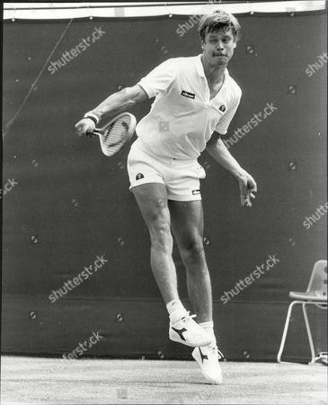 Editorial picture of Wimbledon Tennis Championships, Mens Singles, Wimbledon, London, Britain - 21 Jun 1983