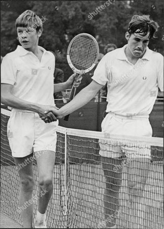 English Tennis Player Buster Mottram (left) After Beating Ian Thomson In Junior Tennis Championship Christopher 'buster' Mottram (born 25 April 1955 In Kingston Upon Thames) Is A Former English Tennis Player Who Achieved A Highest Lifetime Ranking Of Fifteenth In The World. Mottram Represented Great Britain In The Davis Cup Eight Times. His Father Tony Mottram Was A Leading British Tennis Player In The 1950s. Christopher Mottram.