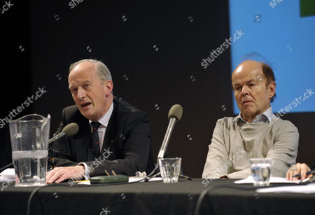 Press Complaints Commission chairman Lord David Hunt and Christopher Jefferies