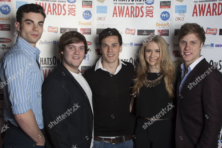 Stewart Clarke, Daniel Buckley, Aaron Sidwell, Eliza Hope Bennett and Richard Lowe