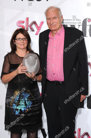 Jana Bennett and Peter Snow with the Broadcast and Screen Contribution to the Medium Award