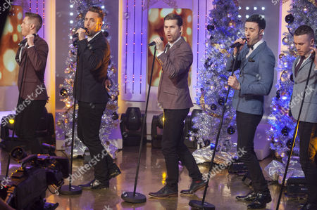 The Overtones - Timmy Matley, Lachie Chapman, Mike Crawshaw, Mark Franks and Darren Everest