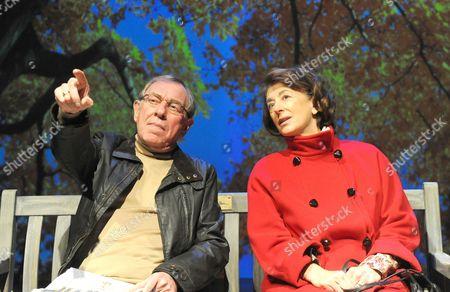 'Old Money' - Geoffrey Freshwater as Man 1 and Maureen Lipman as Joyce