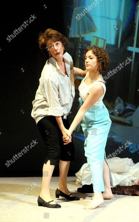 Stock Image of 'Old Money' - Maureen Lipman as Joyce and Nadia Clifford as Candy