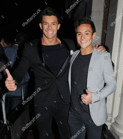 Editorial photo of Tom Daley and Leandro Penna at Funky Buddha nightclub, London, Britain - 07 Dec 2012