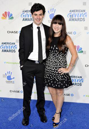 Stock Image of Brendan Robinson and Madeline Fuhrman