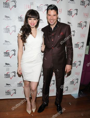 Claire Sinclair Playboy Playmate of the Year 2011 and Frankie Moreno