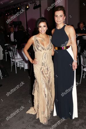 Eva Longoria and Ella Krasner
