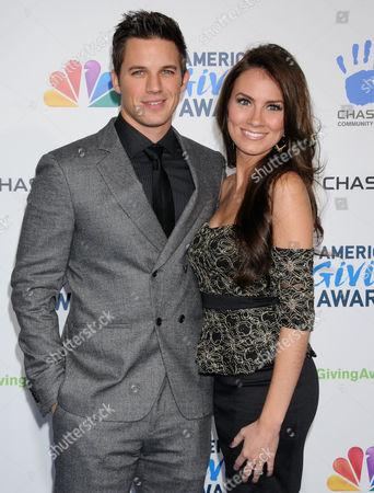 Matt Lanter and Angela Stacey