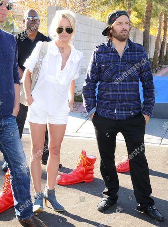 Pamela Anderson and Rick Salomon