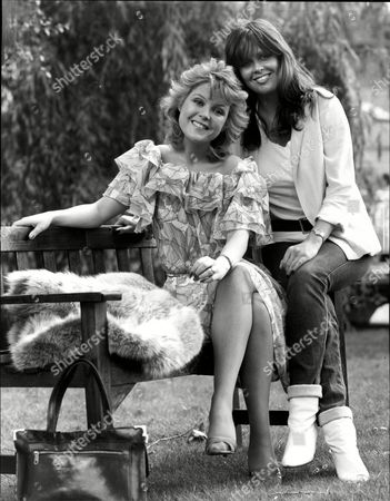 Cheryl Murray With Fellow Actress Kate Robbins 1983.