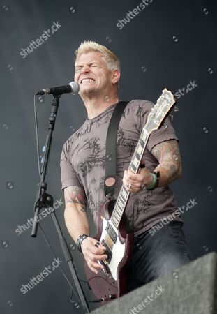 Leicester United Kingdom - June 12: Billy Graziadei From Biohazard Live Onstage At Download Festival 2011 Donington Park Leicester June 12