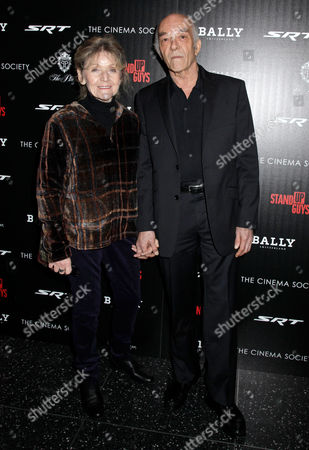Editorial photo of 'Stand Up Guys' Cinema Society Film Screening, New York, America - 09 Dec 2012