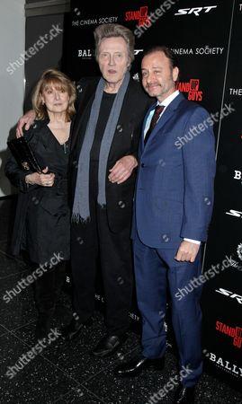 Stock Photo of Georgianne Walken, Christopher Walken and Fisher Stevens (Director)