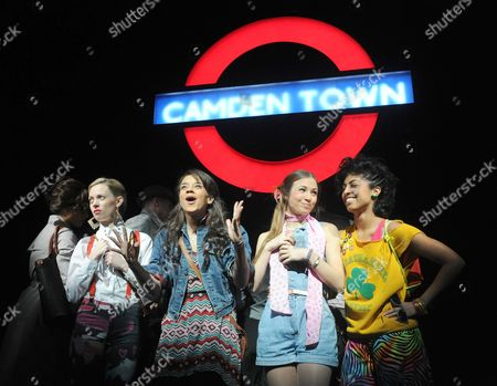 'Viva Forever!' - Lucy Phelps as Diamond, Hannah John-Kamen as Viva, Dominique Provost-Chalkley as Holly and Siobhan Athwal as Luce