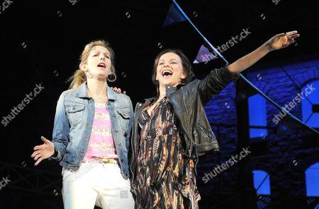 'Viva Forever!' - Lucy Montgomery as Suzi and Sally Ann Triplett as Lauren