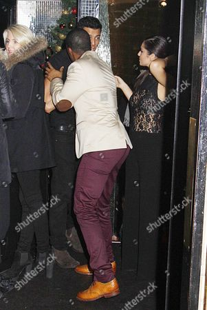 Editorial picture of Cheryl Cole at the Rose Club, London, Britain - 08 Dec 2012