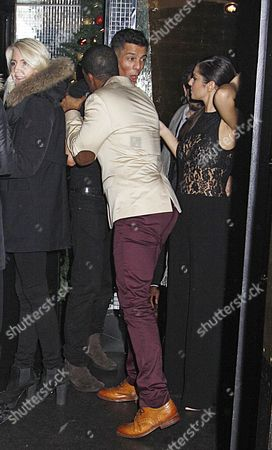 Editorial photo of Cheryl Cole at the Rose Club, London, Britain - 08 Dec 2012
