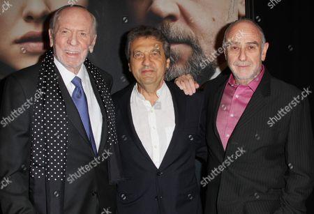 Herbert Kretzmer, Alain Boublil and Claude Michel Schoenberg