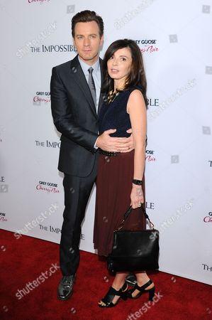 Stock Picture of Ewan McGregor and Eva Mavrakis