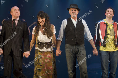'All the Fun of the Fair' - Christopher Timothy (Harvey), Louise English (Rosa), David Essex (Author/Levi Lee) and Michael Pickering (Jack)