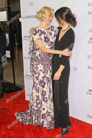 Naomi Watts and Maria Belon
