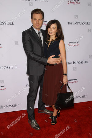 Stock Photo of Ewan McGregor and Eva Mavrakis