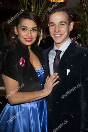 Sophiya Haque (Sylvia Morgan) and Joseph Timms (Private Steven Flowers)