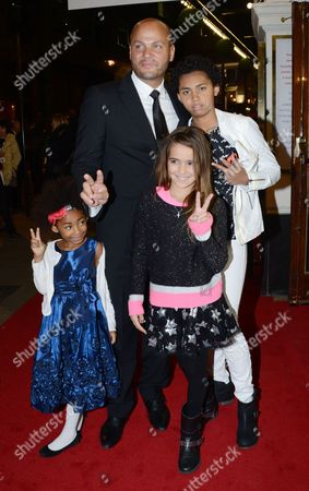Stephen Belafonte and Family, Madison Brown Belafonte, Angel Iris Murphy Brown and Phoenix Chi Gulzar