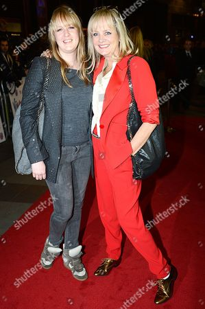 Twiggy and daughter, Carly Lawson