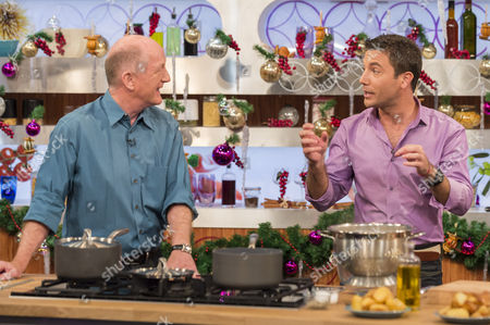 Oz Clarke and Gino D'Acampo