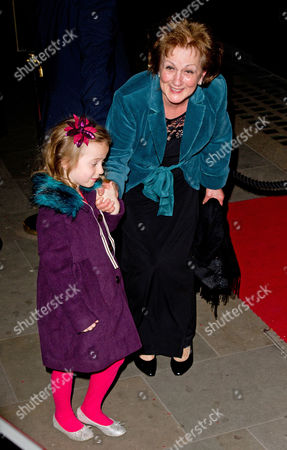 Stock Photo of Maria Halliwell and Geri's daughter Bluebell Halliwell