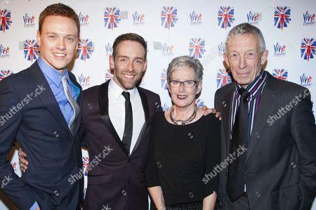 Michael Vinsen, Darren Carnall (Swing/Dance Captain), Janet Carnall and Peter Carnall
