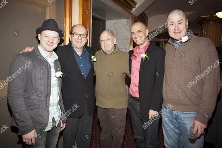 Stock Photo of Jeremy Davis, Joel Hatch, Charles Strauss, Dennis Stowe and Merwin Foard